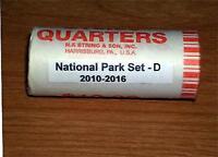 2010-2016 ATB National Park 35 coin quarter set - D Denver Mint