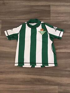 Vintage Real Betis 2001-02 Home Kappa Football Shirt