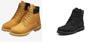 Timberland High-top Mens Women 6 Inch Classic Yellow Premium Waterprova Boots