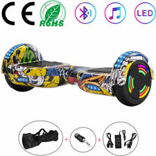 """Hoverboard 6.5"""" Bluetooth Self 2 Wheels Balance Board Electric Scooters Graffiti"""