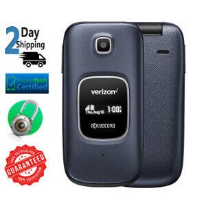 Kyocera Cadence S2720 16GB Blue Verizon + GSM Unlocked Flip Phone