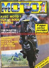 MOTO 1 11 MARTIN KAWASAKI Z1000 CBX 1000 YAMAHA XZ 550 KLR 600 MORINI 500 1983