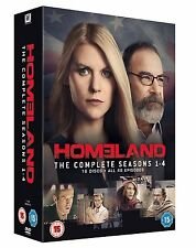 HOMELAND COMPLETE SERIES 1-4 DVD BOXSET COLLECTION SEASON 1 2 3 4 UK Release R2
