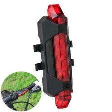 Wasserdicht LED Fahrrad Beleuchtung USB Aufladbar Front Lampe Licht Rücklicht DE