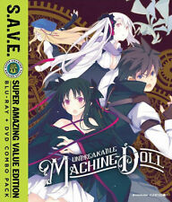 UNBREAKABLE MACHINE-DOLL: THE COMPLETE SERIES S.A.V.E. - BLU RAY - Reg A