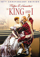 NEW 2 dvd -The KING and I -50th Anniversary Ed. Yul Brynner Rogers & Hammerstein