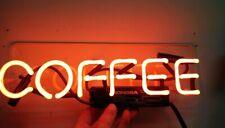 "New Coffee Open Neon Light Sign Lamp Beer Pub Acrylic 14"" Artwork Glass"