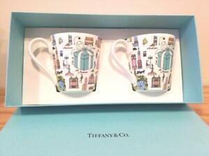 TIFFANY & co. 5th Avenue Pair Mug limited F/S JAPAN