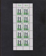 Bund 1932 Sehenswürdigkeiten Zehnerbogen postfrisch einwandfrei