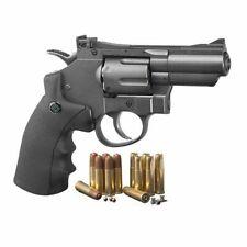 Crosman (black/ Grey) co2 Powered Dual Ammo Full Metal Snub Nose Air Revolver