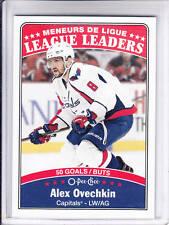 16/17 OPC Washington Capitals Alex Ovechkin League Leaders card #658