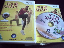 WII YOUR SHAPE (NOT WII U) DISC GAME ONLY NO CAMERA FREE UK POST