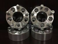 """Set of 4 Wheel Spacers 2"""" Aluminum 5x4.5 w/ Studs Fits Ford Explorer, Sport Trac"""