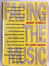 Signed 1ST LARRY BROWN FACING THE MUSIC  very fine
