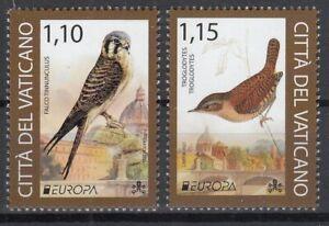 Vatican  2021 EUROPA CEPT Endangered national wildlife .SET 2 ST  MNH