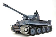 RC Panzer Tiger I 1:16 Rauch Sound Schussfunktion Metallketten + Getriebe 2.4GHz