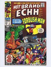 Not Brand Echh #5 (VG-) Origin/1st app. Forbrush Man; Marvel; 1967 (c#19159)