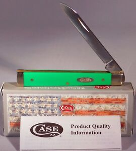 Case XX USA 4185 SS Smooth Alpine Green Synthetic Doctor Pocket Knife