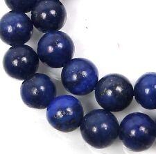 "8mm natural Indigo Lapis Lazuli Round Beads 15"""