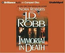 Immortal in Death by J. D. Robb (2004, Unabridged) 8 CDs