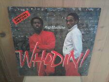 """WHODINI rap machine 12"""" MAXI 45T"""