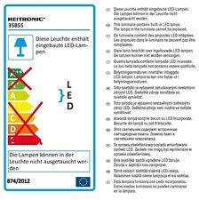 2x Heitronic LED Wandleuchte Mona 2
