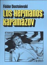 LOS HERMANOS KARAMAZOV. NUEVO. Nacional URGENTE/Internac. económico. COMIC MANGA