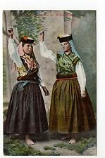 "PORTUGAL Costumes, coutumes Femme en costume Do Minho "" Santo Tirso """