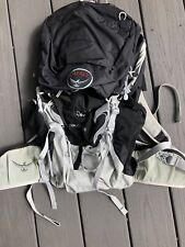 OSPREY Talon 33 Lightweight BACKPACK - Black & Gray M /L Used-Great Condition!