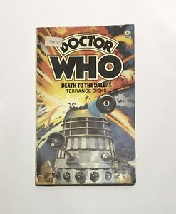 Doctor Who - Death to the Daleks - Terrance Dicks - Paperback Target 1979