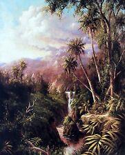 "ART FRONCKOWIAK, ""Salto del Angel - Puerto Rico"", Open Ed Image Size 28""h x 22""w"