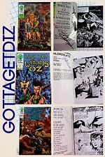 Peter Pan & the Warlords of Oz Set Of 3 Comics SIGNED #0 #1 & Dead Head Water