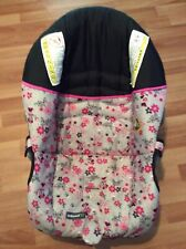 Safety 1st OnBoard 22 Baby Car Seat Cover Cushion Part Replacement Pink Black
