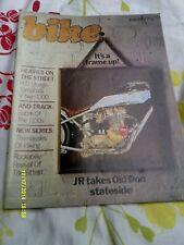 BIKE Magazine(june1981)H.D.Sturgis/GSX400/RDMX/Kawa AE50/Yamaha TR1/BMW R100CS
