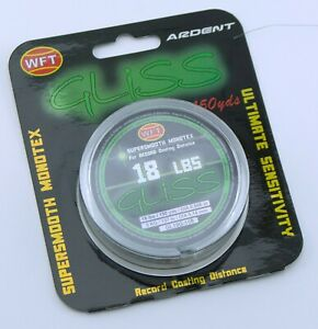 Ardent WFT Gliss Supersmooth Monotex Fishing Line 18lbs 150yds Green