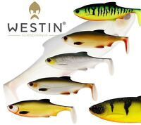 Westin Lure Fishing Ricky The Roach Shad Tail 7cm 10cm 14cm 18cm 42g Paddle Tail
