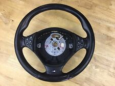 1999-2005 BMW E38 528i 528i M5 Leather Steering Wheel Oem Black