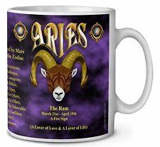 Aries Astrology Star Sign Birthday Gift Coffee/Tea Mug Christmas Stocki, ZOD-1MG