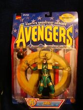Vtg AVENGERS LOKI Action Figure Toy Marvel Comics