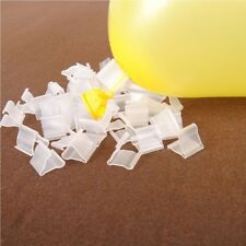 100pcs Clear Balloons Clip Wedding Birthday Decoration Balloons Accessory