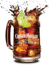 Captain Morgan, Cartel/Placa de Metal Retro Pub, Bar, Cueva de hombre Novedad Regalo