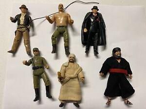 Indiana Jones 1982 LFL Action Figure Lot