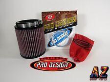 04 05 Honda TRX450R TRX 450R Pro Design Pro Flow K&N Air Filter Intake Kit KN