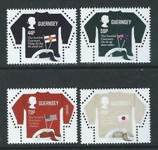 Guernsey 2017 Sepac  vlaggen jerseys    WNF  WWF       postfris/mnh