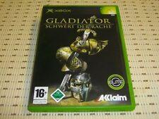 Gladiator Schwert der Rache für XBOX *OVP*