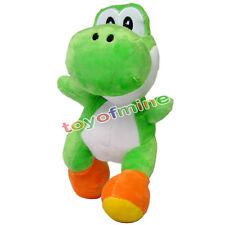 Cute Plüschtier - GREEN YOSHI Super Mario Brüder Figur Doll Neue 8in