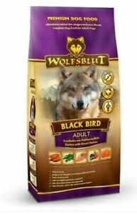 Wolfsblut Black Bird 15kg Adult Truthahn & Süßkartoffel Trockenfutter Hund