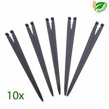 10x Piqueta soporte para microtubo de distintos diametros ** tubo tuberia riego