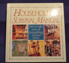 1999 HOUSEHOLDERS SURVIVAL MANUAL; How to... Hardcover Book by READERS DIGEST