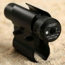 Red Dot with Barrel Mount Pressure Switch Laser Sight Scope Rifle Hunting Tool